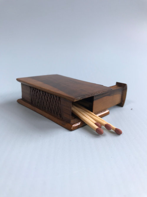 Antique Vesta Box