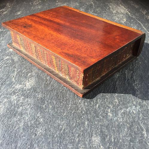 Antique Money Box - Book Shape