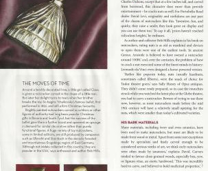 BBC HOME AND ANTIQUES MAGAZINE DECEMBER 2011 ARTICLE ON ANTIQUE