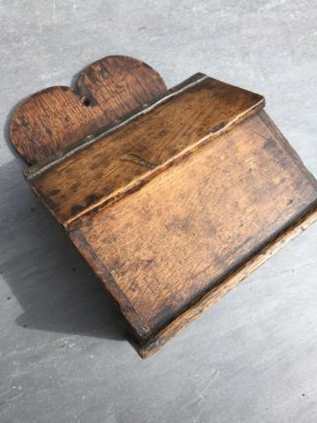 A Rare Small  Size Antique Candle Box