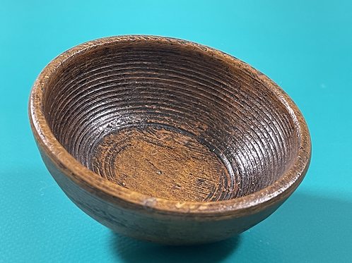 Antique Treen Small Bowl