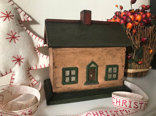 Antique House Money Box