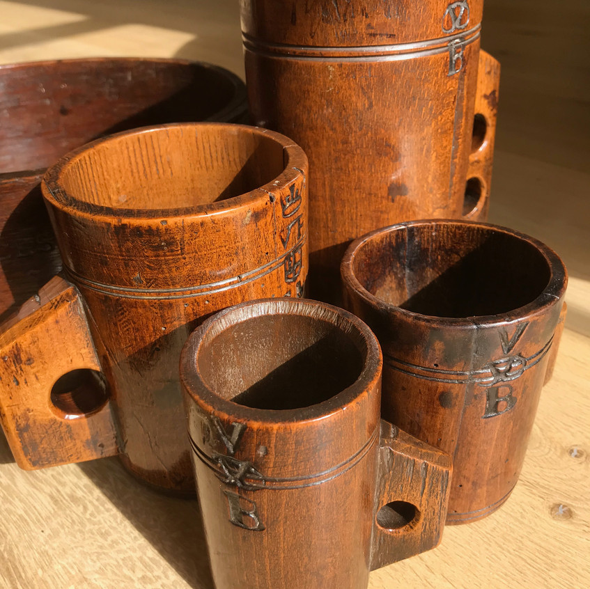 antique treen measures for sale Opus Ant