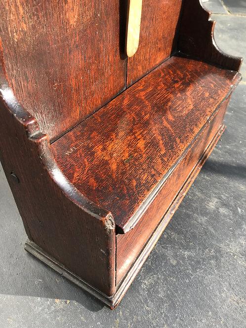 Antique Welsh Oak Spoon Rack