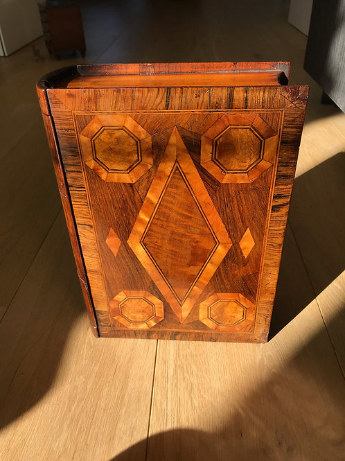 A Large Antique Book Box