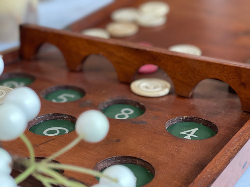 An Unusual Game -Similar Bagatelle/& Shove Half Penny