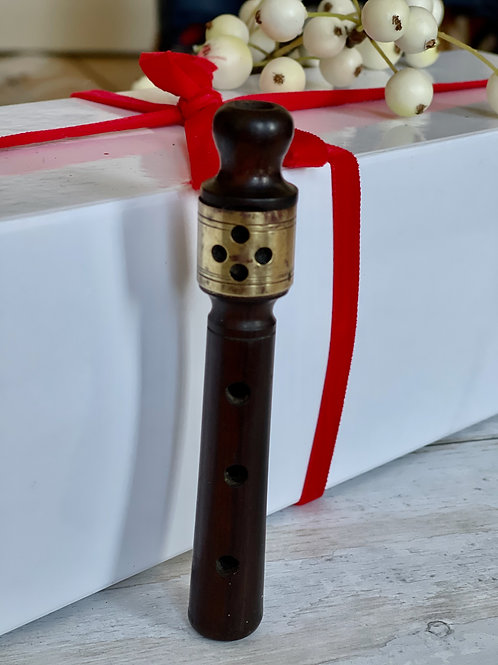 Antique Treen Whistle/Musical Instrument