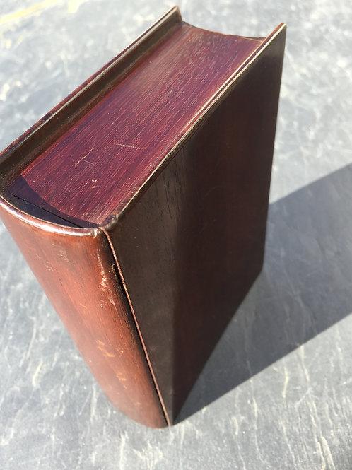 Antique  Mahogany Book Box