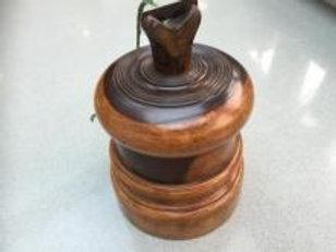 An antique string box