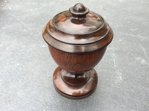 A Fabulous Mid 18th Century Walnut Spice Pot
