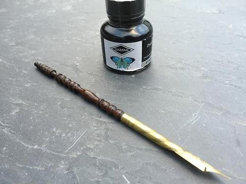 A Lovely Antique Bobbin Turned Pen