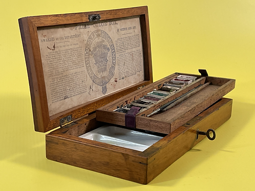 Antique Paint Box