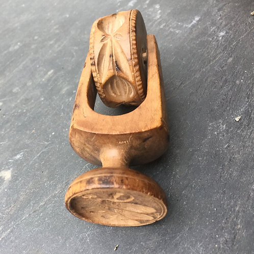 An Unusual Butter/Pastry Roller and Stamp
