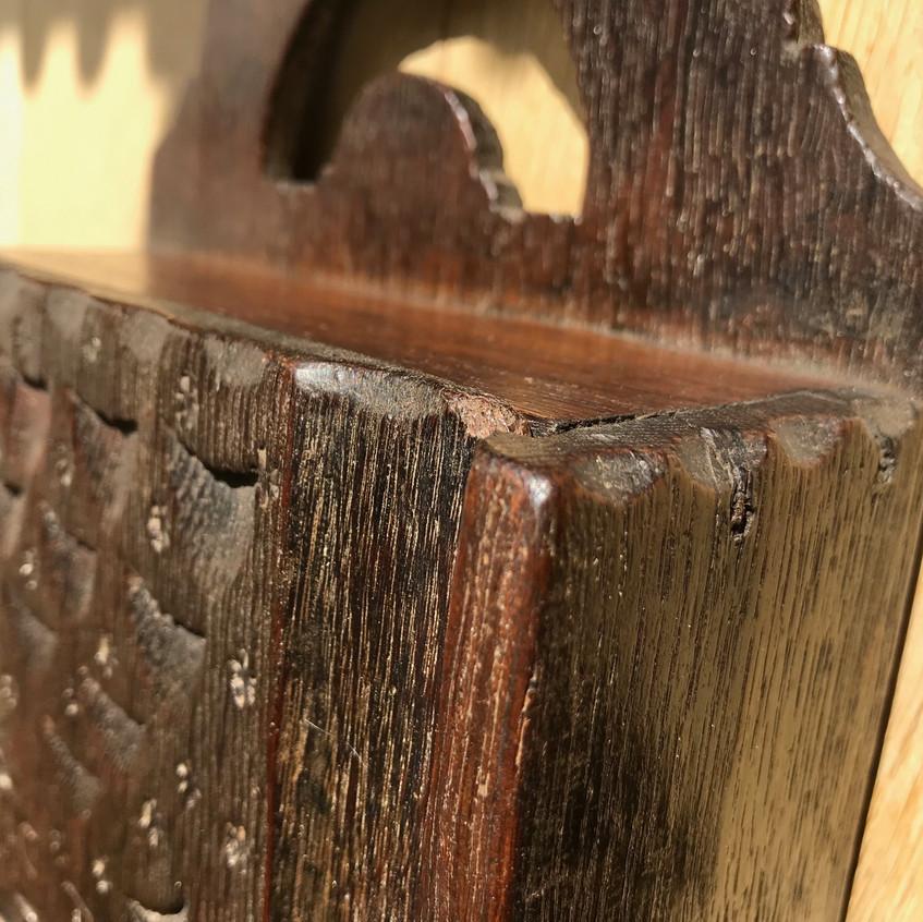 antique oak candle box for sale opus ant
