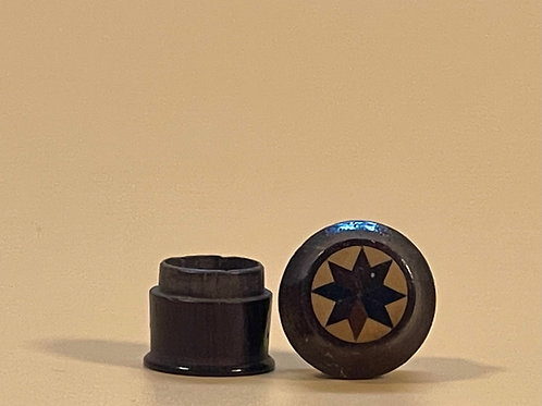 A Small Tunbridge Ware Sequin/bead Box - for a sewing box