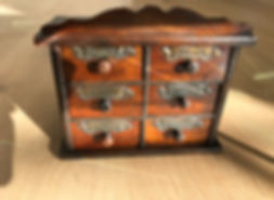 antique treen spice drawers for sale opus antiques uk