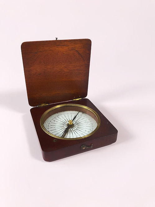 An Antique Explorer's Compass