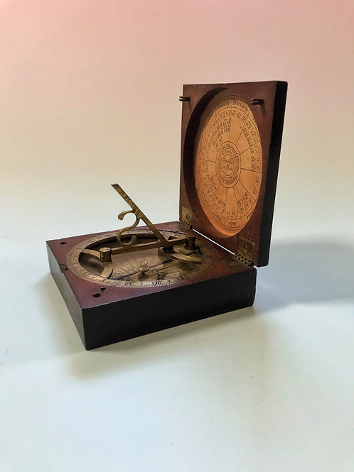 Georgian Sun Dial & Compass