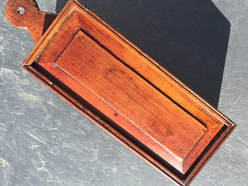 Antique Candle Box in Elm
