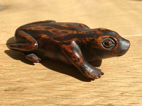 Antique Frog Snuff Box