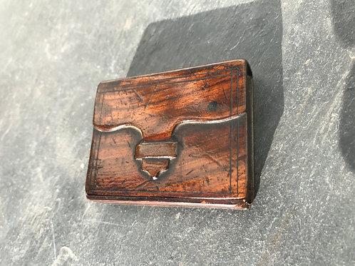 Antique Puzzle Snuff Box - Satchel