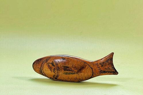 Antique Fish Snuff Box