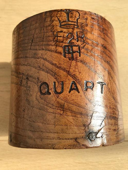 Antique Treen Measure - elm wood