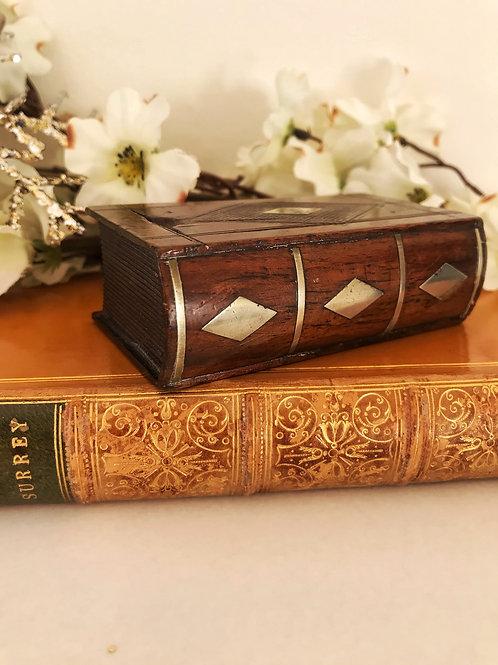 Antique Book Snuff Box