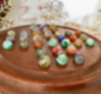 antique solitaire board with marbles for