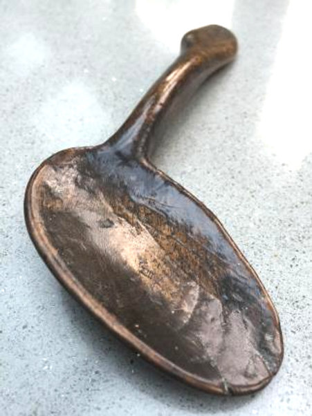 An Exceptionnel Antique Fruitwood Spoon