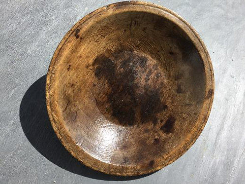 Antique Treen Sycamore Bowl