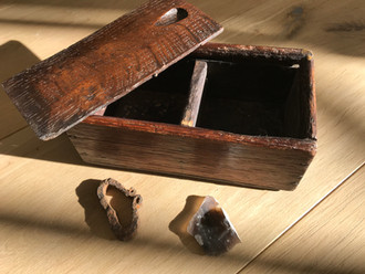 Antique 18th Century Treen Tinder Boxes
