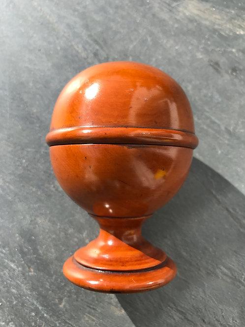 Antique Pill Silverer on a pedestal