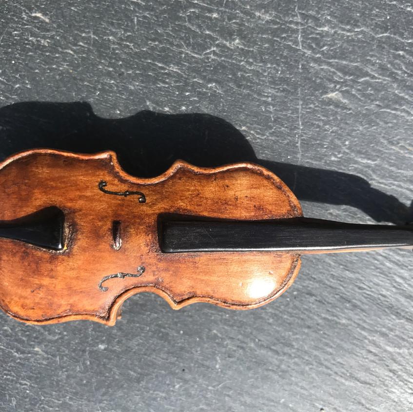 Antique Violin Snuff Box, Opus Antiques