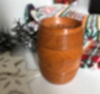 antique treen pounce pot for sale opus a