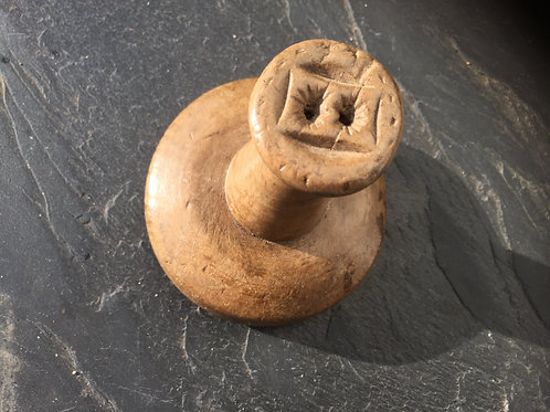 Unusual Antique Double Butter Stamp