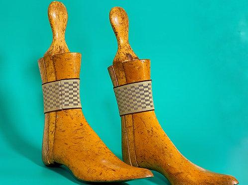 An Antique Pair of Ladies Shoe Lasts