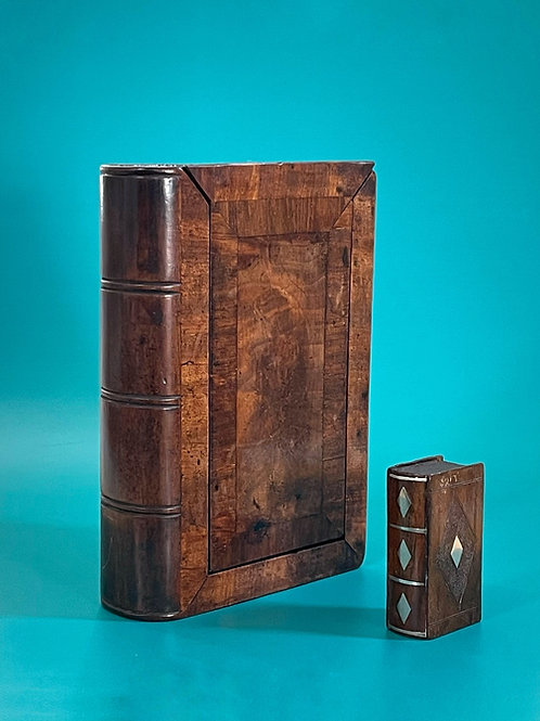 Antique Mahogany Book Box - large size