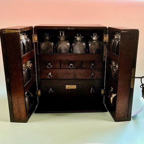 Antique Apothecary/Medicine Chest