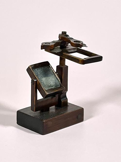 Antique Primitive Microscope