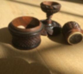 antique treen table nutmeg grater for sa