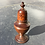 Thumbnail: An Antique Treen Spice Muffineer