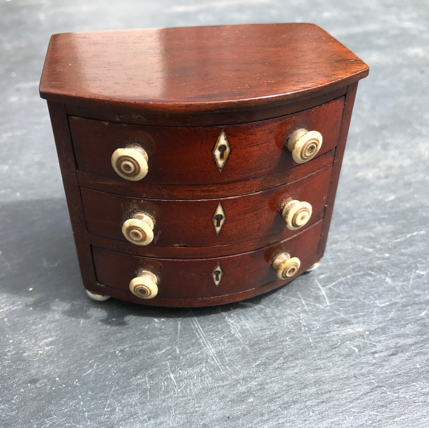 Antique Mini Chest of Drawers