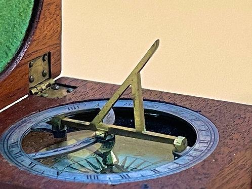 A Georgian Compass and Sun Dial