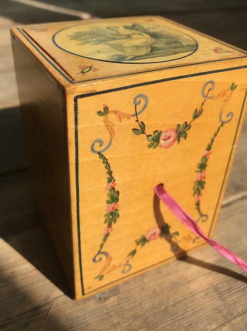 A Rare Georgian Box with Cards on Love & Friendship