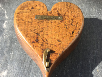 Why are Antique Treen Tinder boxes difficult to find?