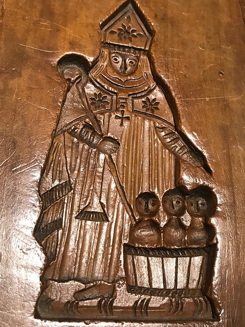 Antique Gingerbread Mould - Father Christmas
