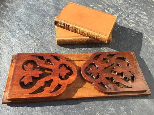 Antique Walnut Book Slide
