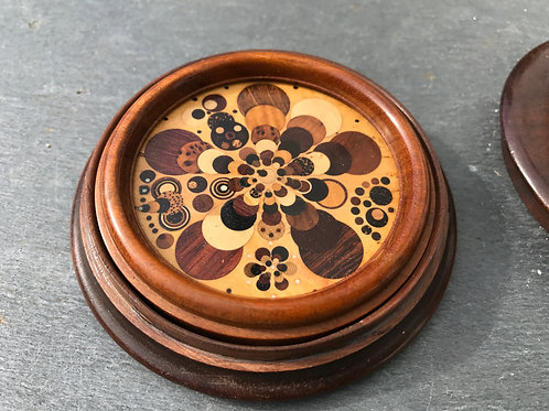 An Interesting 19th Century Marquetry Sample