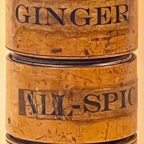 Antique Spice Tower - five section
